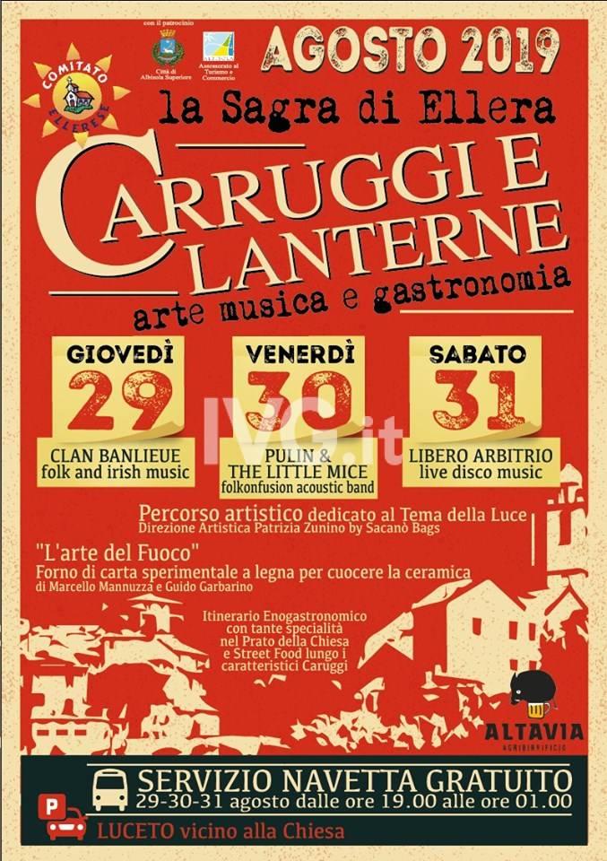 Caruggi & Lanterne a Ellera