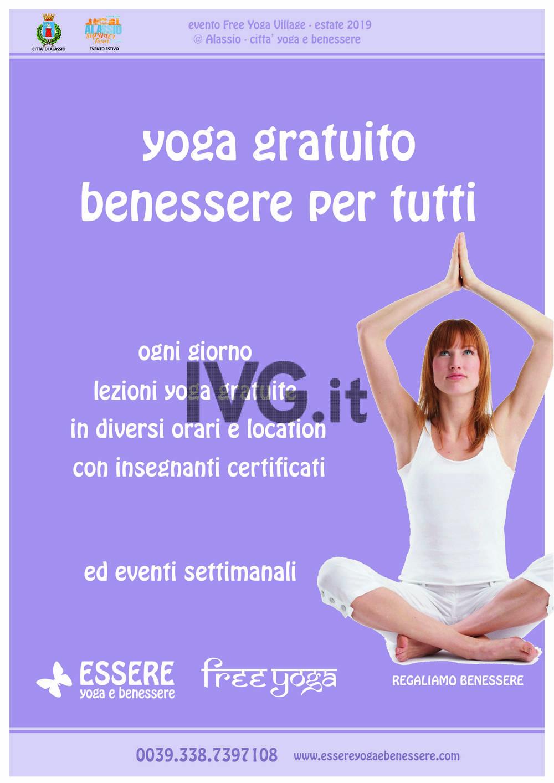 Alassio: tre mesi di Free Yoga e Alassio Summer Town