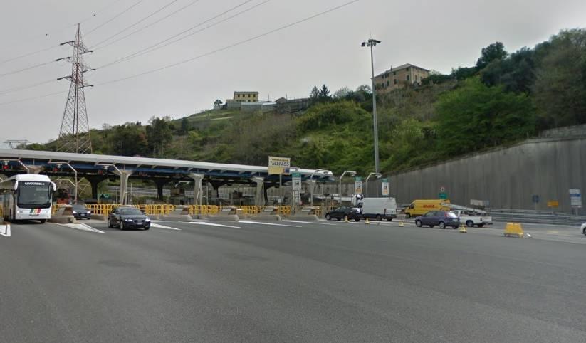 casello genova aeroporto