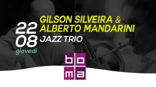Cena in Jazz al Boma di Varazze - Gilson Silveira e Alberto Mandarini