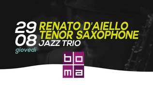Cena in Jazz al Bona- Renato D'Aiello