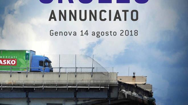 """""""Cronaca di un crollo annunciato"""" libro Franco Manzitti"""