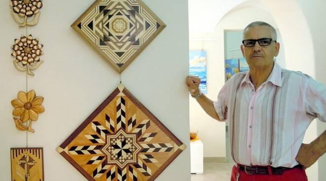 Ennio Bianchi mostra pittura e intarmosaico Varazze