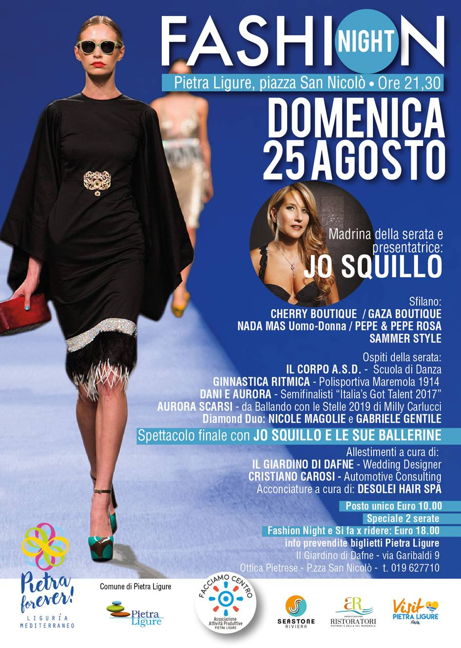 Fashion Night 2019 pietra ligure