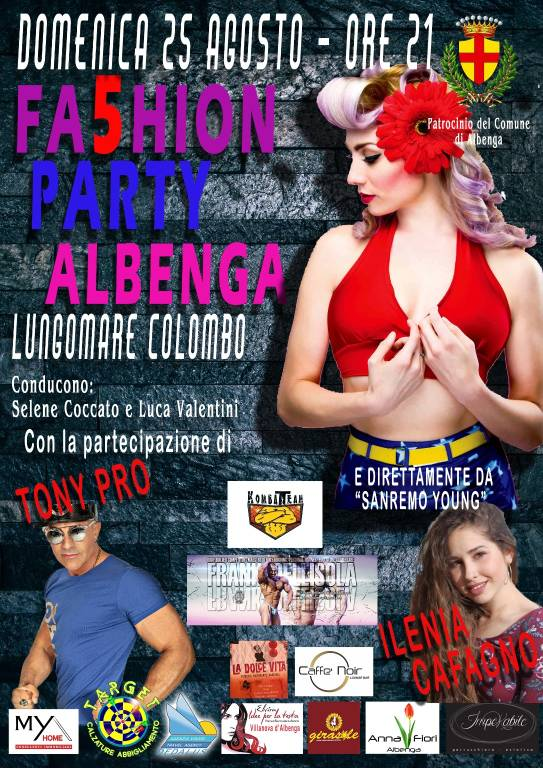 Fashion Party 2019 Albenga