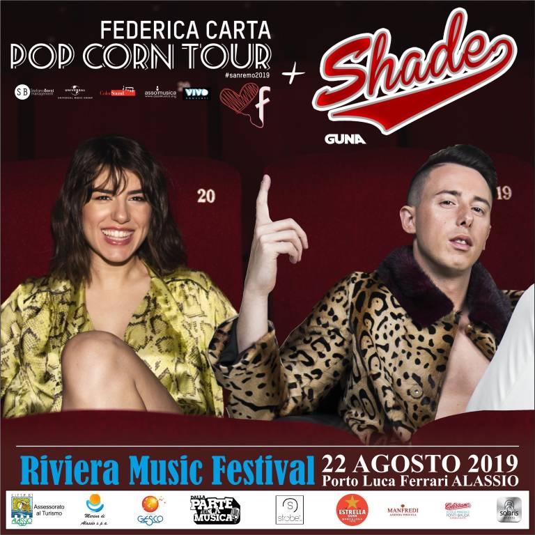 Federica Carta e Shave Riviera Music Festival Alassio