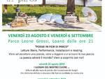 Poesie Fior di Parco Loano 2019
