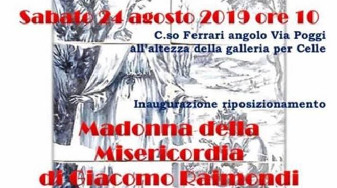 Inaugurazione Recupero Madonna della Misericordia Albisola