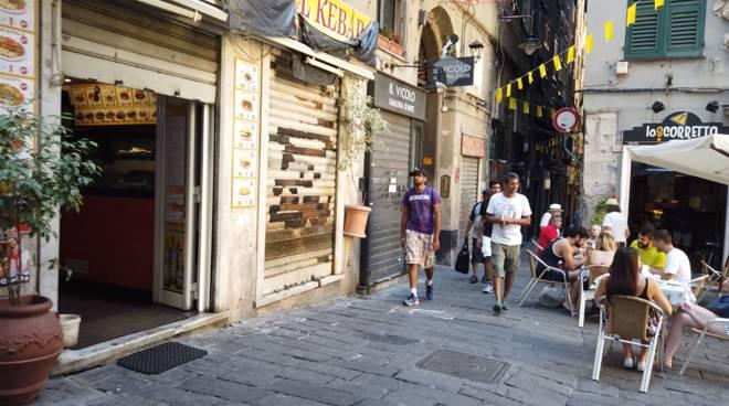 Genova Turisti negozi aperti ferragosto