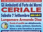 """""""Gli Ambulanti di Forte dei Marmi®"""" a Ceriale sabato 7 settembre"""