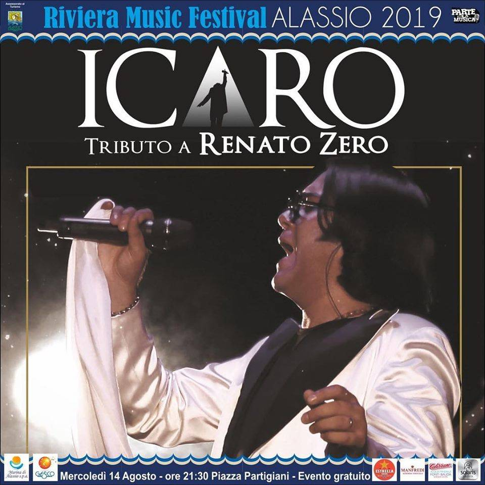 """Icaro"" concerto tributo Renato Zero Alassio"