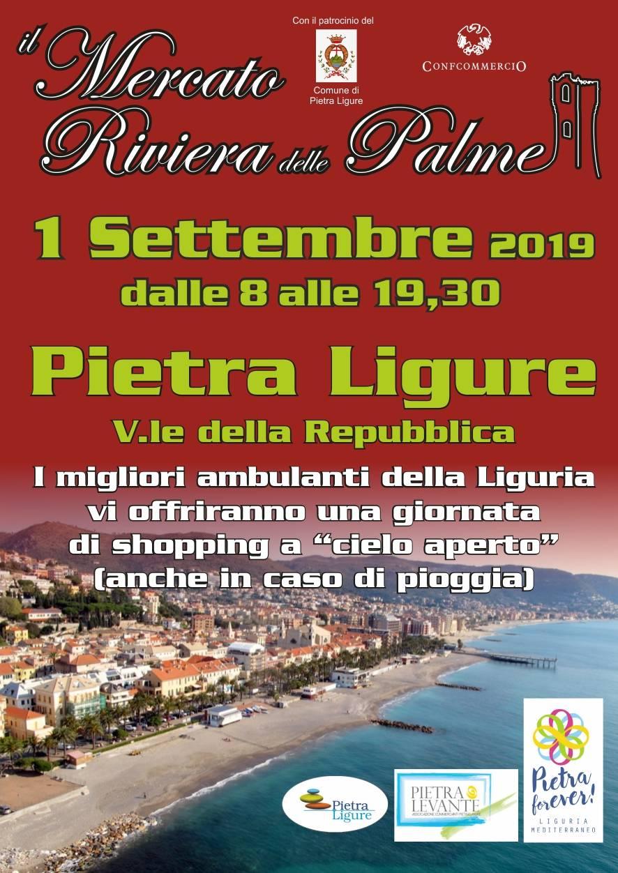 Il Mercato Riviera delle Palme a Pietra Ligure