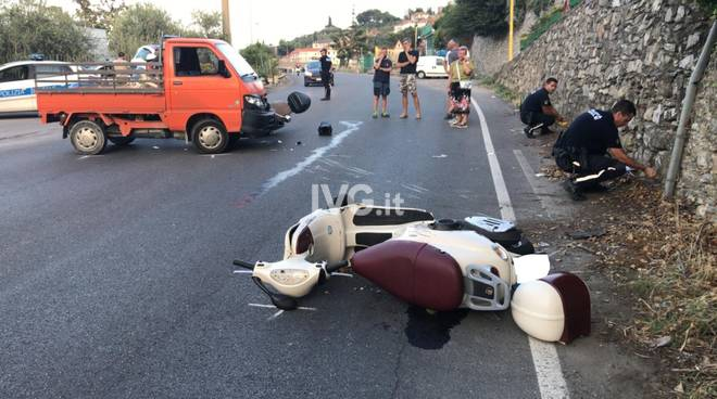 incidente albenga