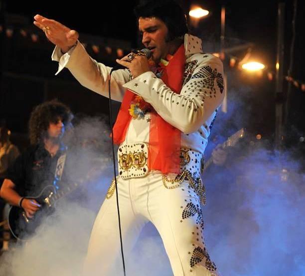 Joe Bavota sosia ufficiale italiano di Elvis Presley