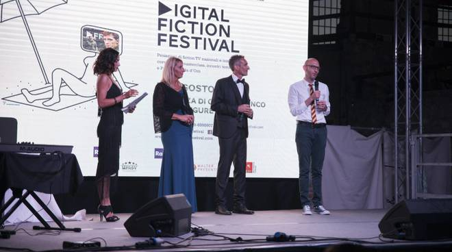 L'inaugurazione del Digital Fiction Festival a Finale