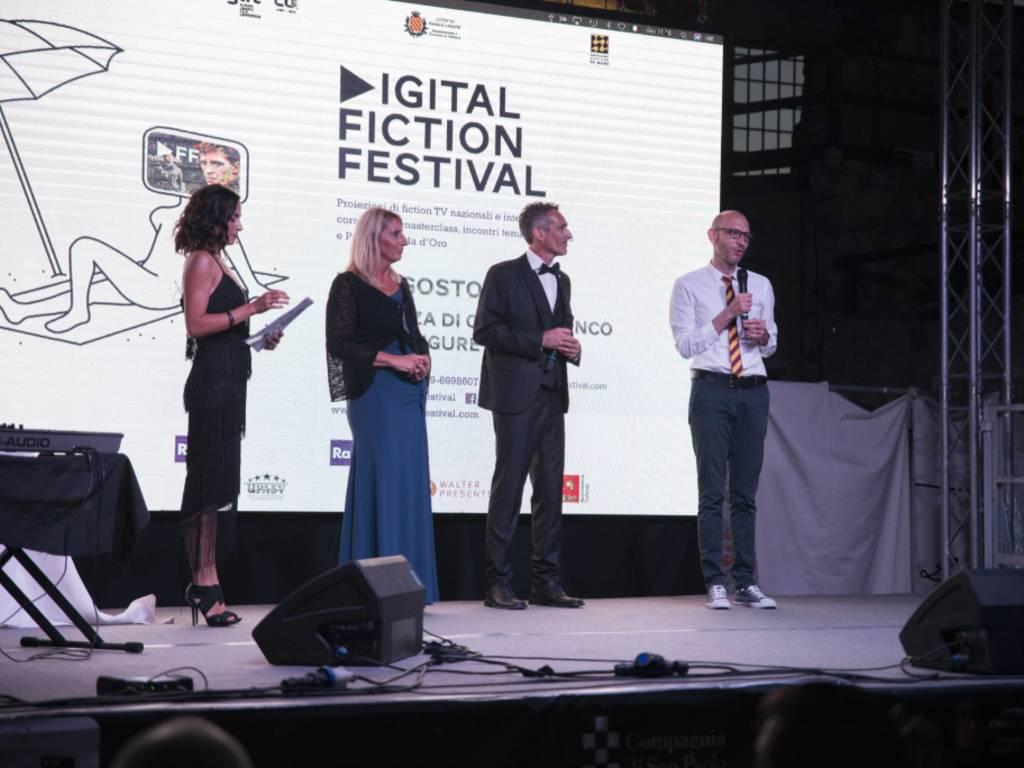 L'inaugurazione del Digital Fiction Festival a Finale