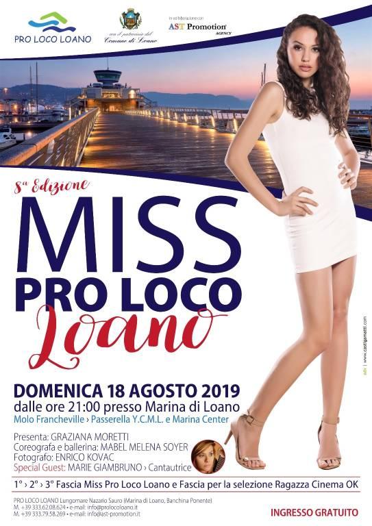 Miss Pro Loco Loano 2019