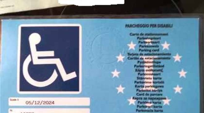 multa turista disabile