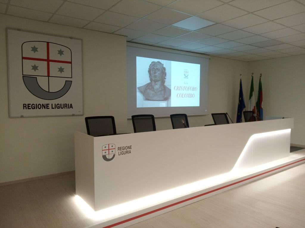 nuova sala multimediale regione liguria