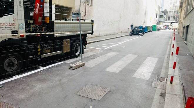parcheggi moto via cebà, via ginevra
