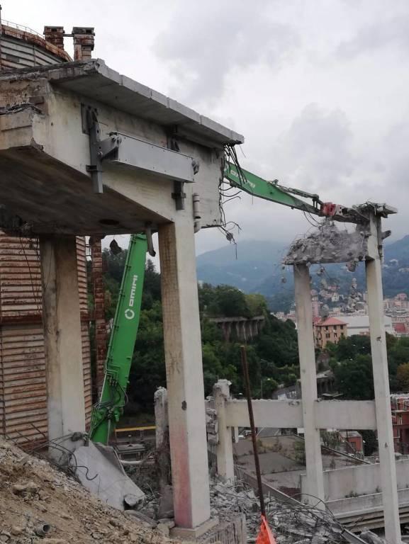 pila due demolizione