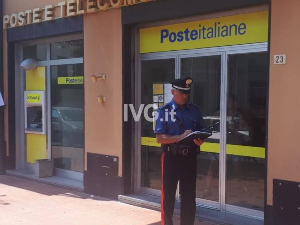 ufficio postale carabinieri loano