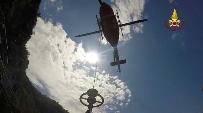 Elicottero Vigili Fuoco Verricello