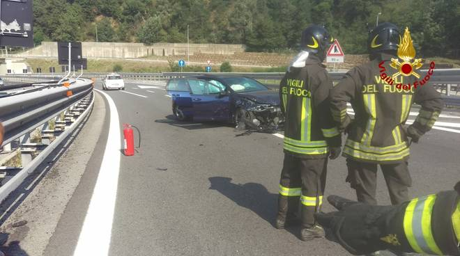 Incidente Stradale Altare A6