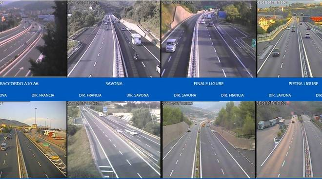 Webcam autostrade 25 agosto