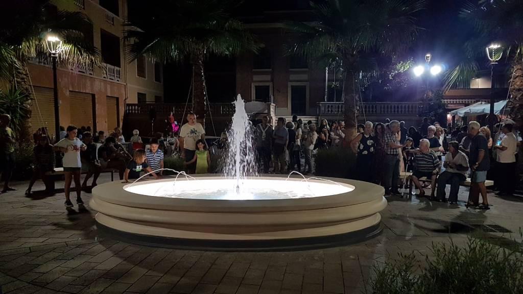 Inaugurazione Fontana Cisano