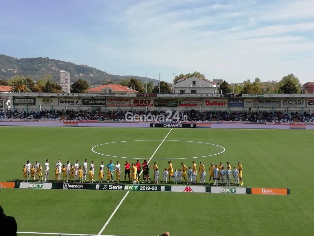 Calcio, Serie B: Virtus Entella vs Frosinone