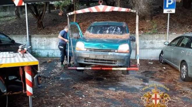 carcasse auto rimosse