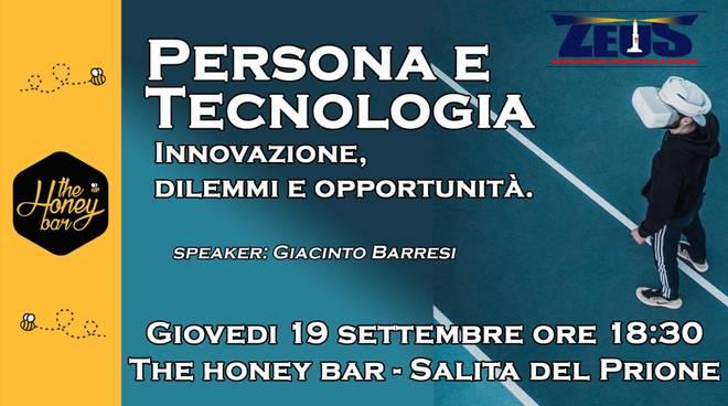 Persona e Tecnologia - Innovazione, dilemmi e opportunità.