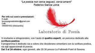 Gli arnesi del poeta- Terzo incontro del workshop di poesia  con Ferdinando Molteni