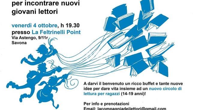 Circolo di lettura per ragazzi a Savona - Libriganti vi aspetta!
