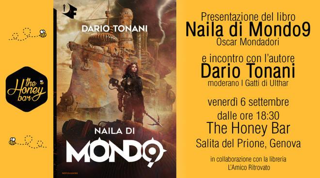 """Presentazione del libro """"Naila di Mondo9""""  e incontro con l'autore Dario Tonani"""