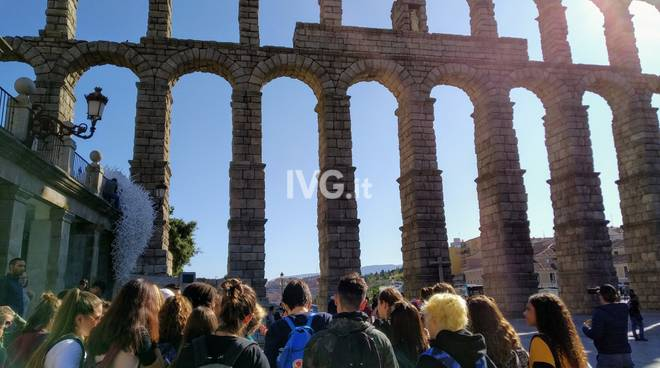 Stage linguistico a Salamanca per 40  studenti del LICEO LINGUISTICO DELLA ROVERE DI SAVONA