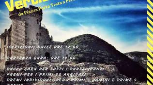 VERTICAL DEI CASTELLI - Sabato 12 Ottobre 2019 a Finale Ligure