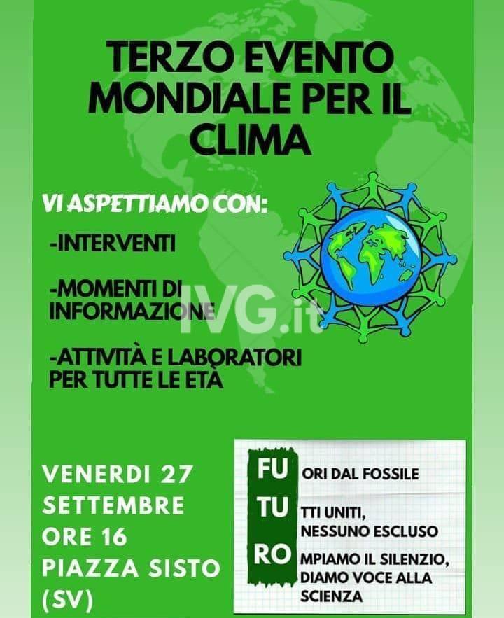 Venerdì si sciopera per l'emergenza climatica! Ecco la manifestazione di #FridaysforFuture Savona