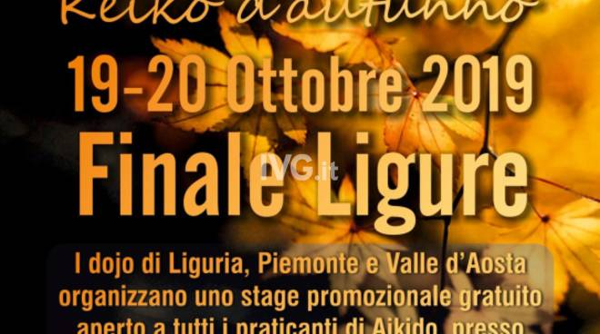 Keiko d'Autunno – Stage Interregionale di Aikido del Nord-Ovest, il 19-20 Ottobre a Finale Ligure
