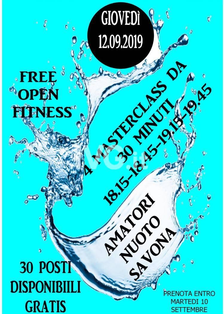 Amatori Nuoto Savona : Free Open Fitness
