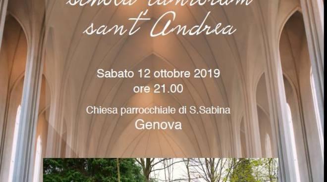 Concerto del 35° anniversario Schola Cantorum S. Andrea