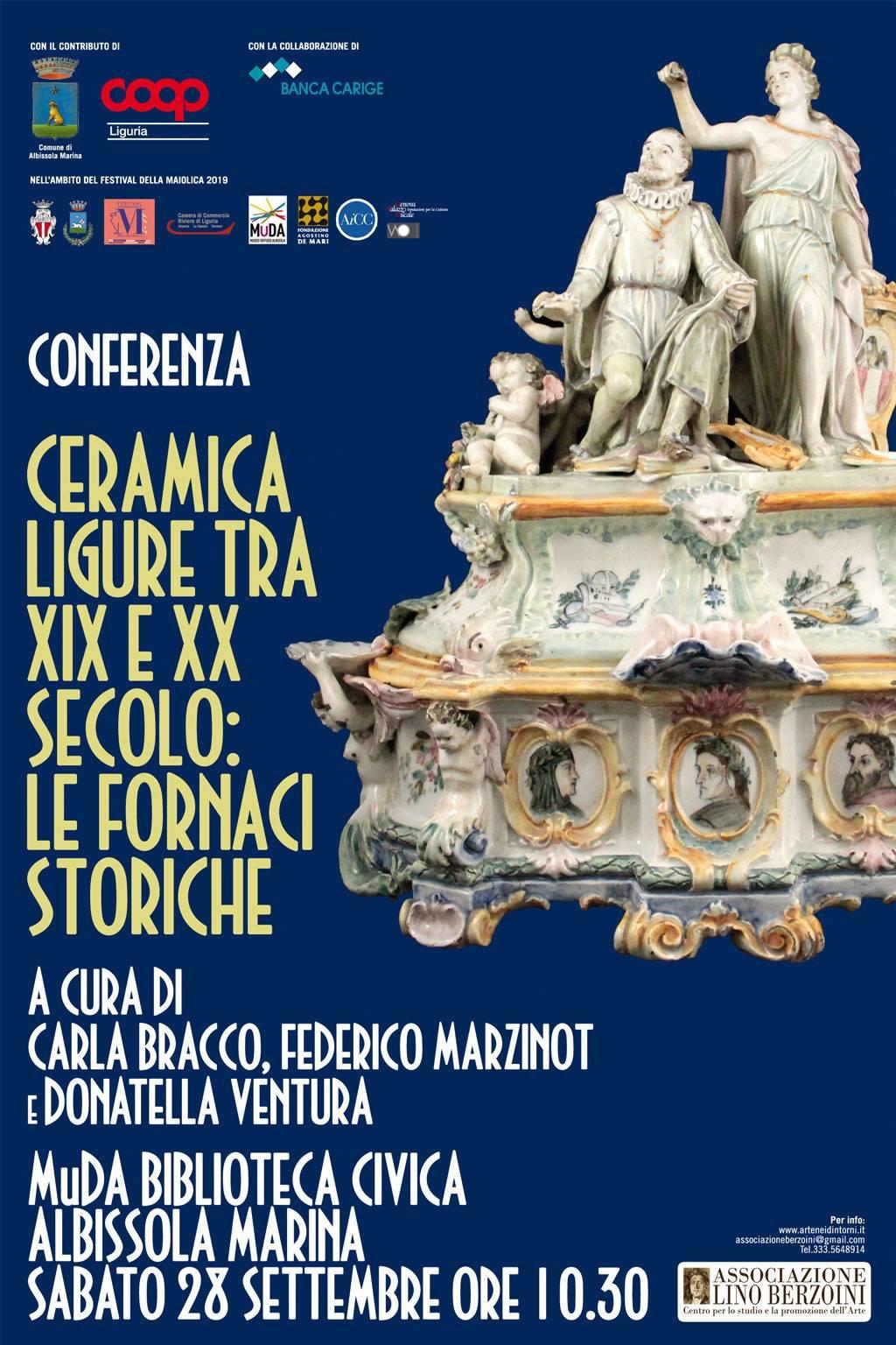 """""""Ceramiche liguri tra fine '800 e inizio '900"""" conferenza Albissola Marina"""
