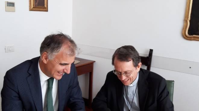 Collaborazione Carige Diocesi Savona