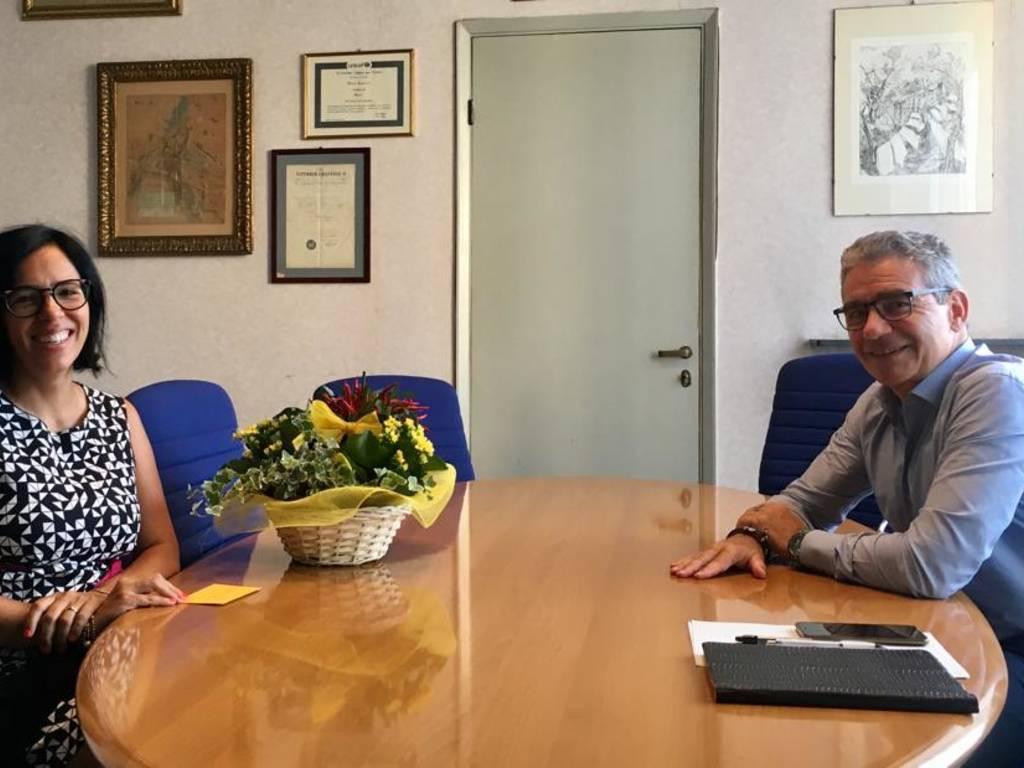 cristina bloise, nuovo segretario comunale di recco