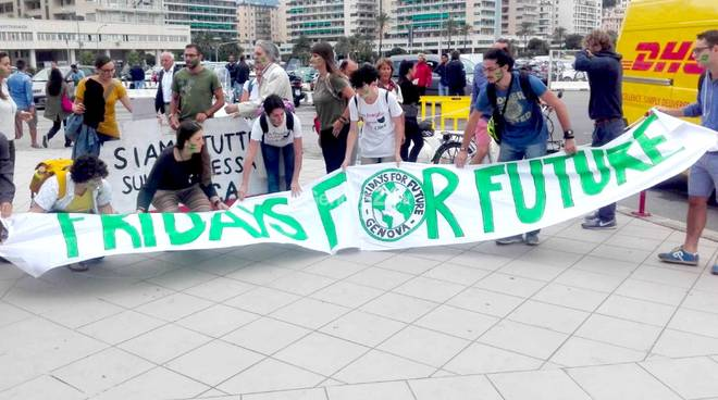 Fridays For Future al Nautico
