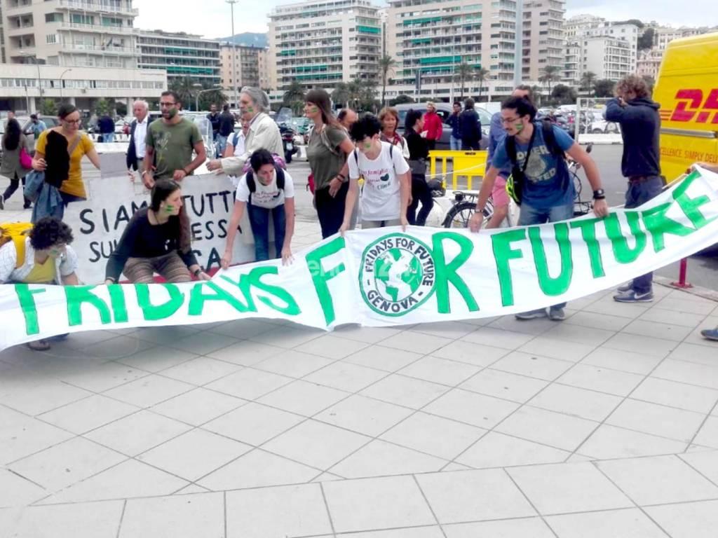 Fridays For Future al Nautico