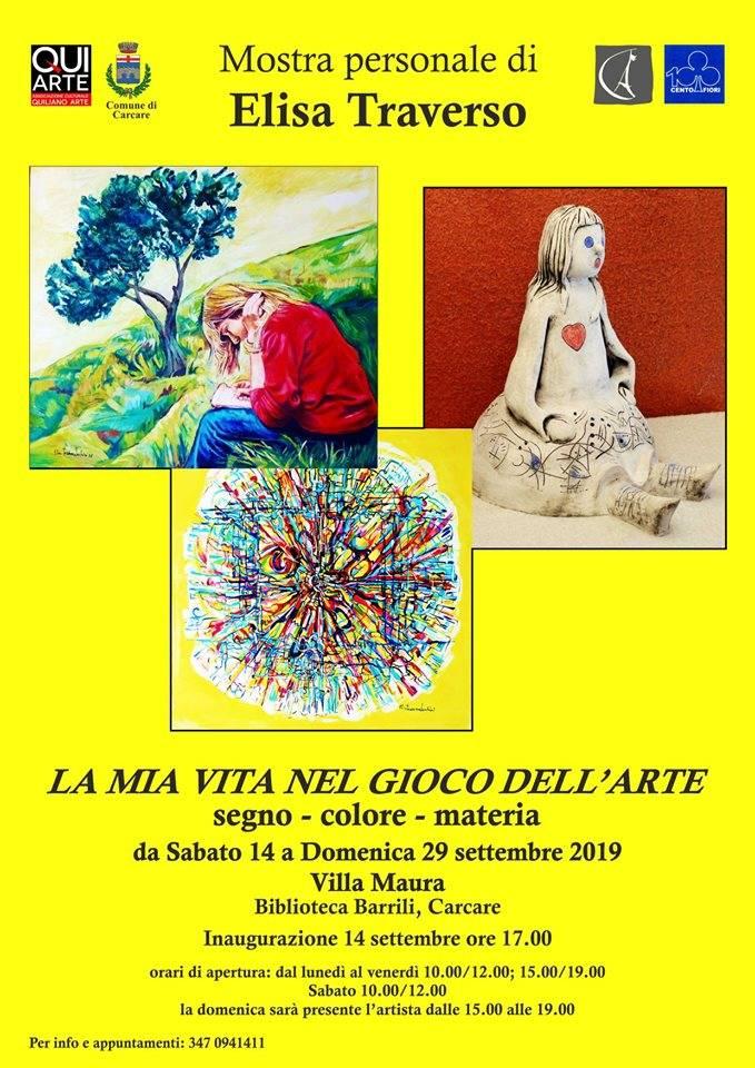 Mostra Elisa Traverso Carcare 2019