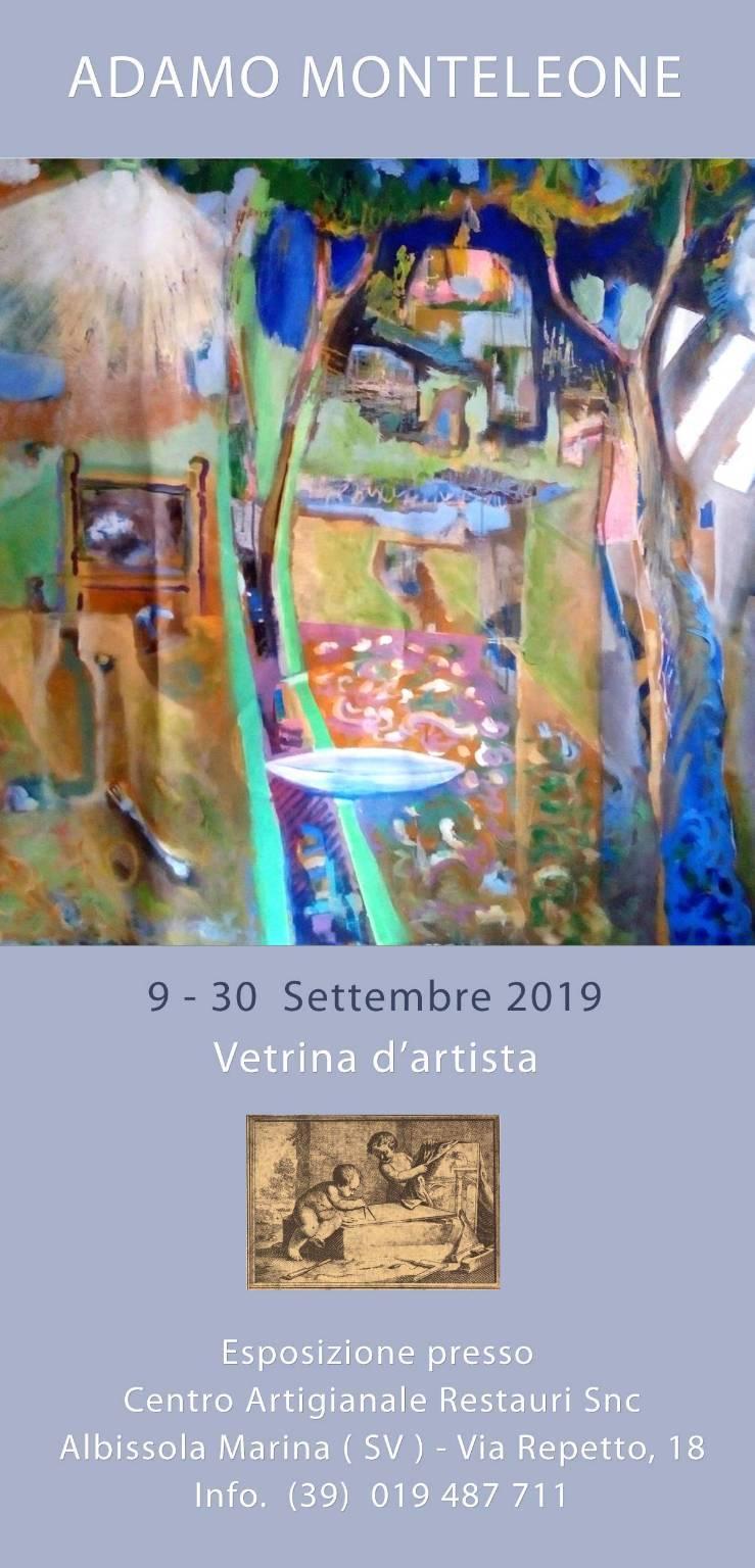 Mostra Adamo Monteleone Albisola Marina 2019