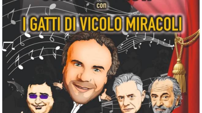 Jerry Calà e I Gatti di Vicolo Miracoli Andora 2019